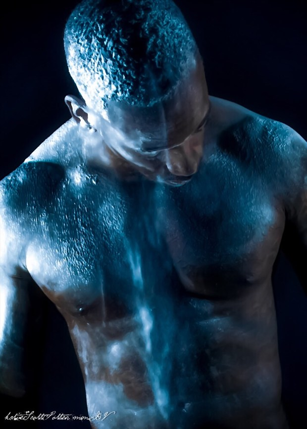 Blue Tattoos Photo by Photographer Katie Potter