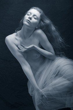 Blue Water Dream Artistic Nude Photo by Photographer Mark Bigelow