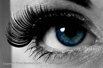 Blue eye Glamour Photo by Photographer Brian Southam