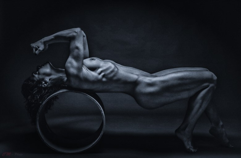 Blue power Artistic Nude Artwork by Photographer CM Photo