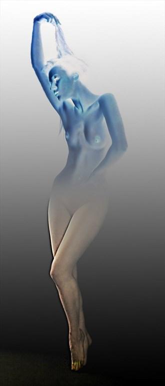 Blue study Figure Study Photo by Photographer chris broadhurst
