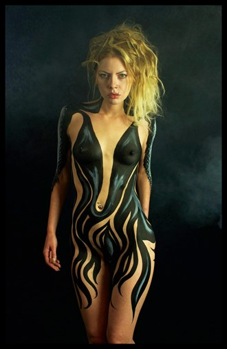 Body Paint Artistic Nude Photo by Artist Addenda Studios
