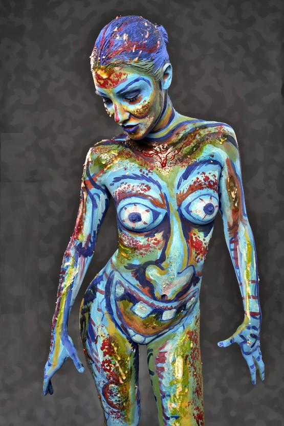 Body Painting Artwork by Artist Andy Golub