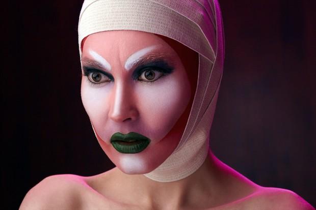 Body Painting Expressive Portrait Photo by Artist dmitryzubarev