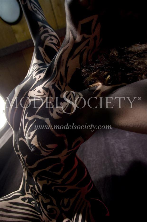 Body Painting Photo by Model Beth Elle