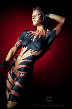 Body Painting Photo by Model FallenEcho