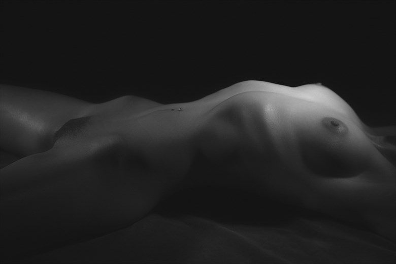 Body Scape, Rib Cage  Artistic Nude Photo by Photographer CSDewitt Buck
