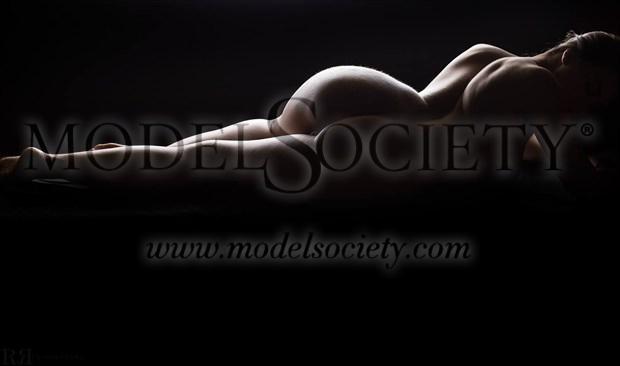 Body Scape 2 Artistic Nude Photo by Model Charlotte Dell'Acqua