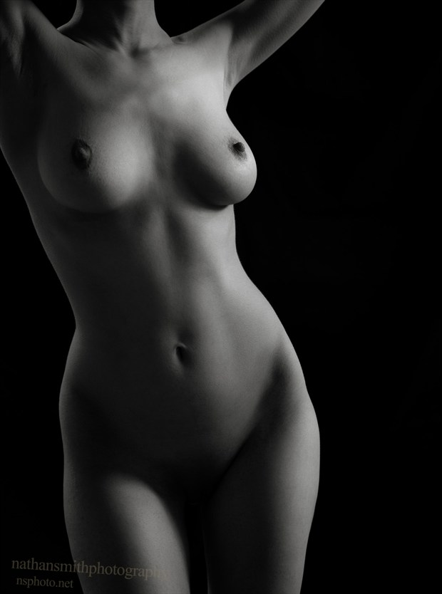 Body scape Artistic Nude Artwork by Model Diana Revo