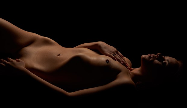BodyScapes Cliff Conklin Artistic Nude Photo by Model Aurora Red