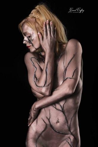 Bodypaint Body Painting Artwork by Model Carmen model