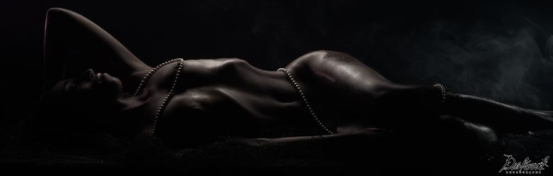 Bodyscape Artistic Nude Photo by Model Aly Jhene