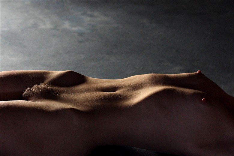Bodyscape Artistic Nude Photo by Model NaturalHappyWoman