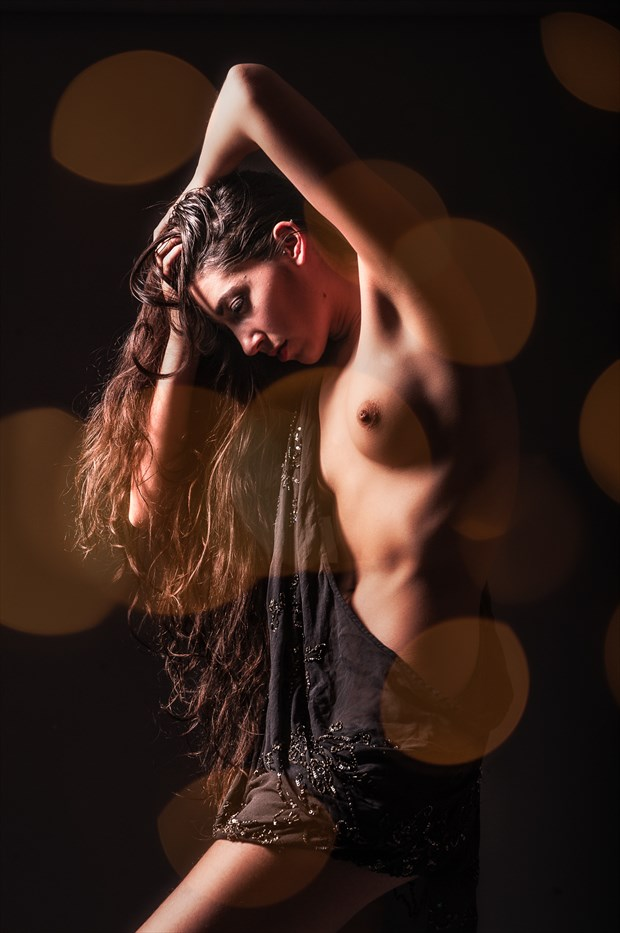 Bokeh Bink Artistic Nude Photo by Photographer DJR Images