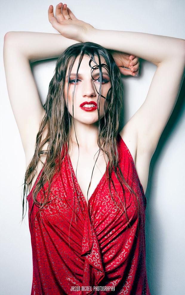 Bold Fashion Photo by Model Satine Lynn