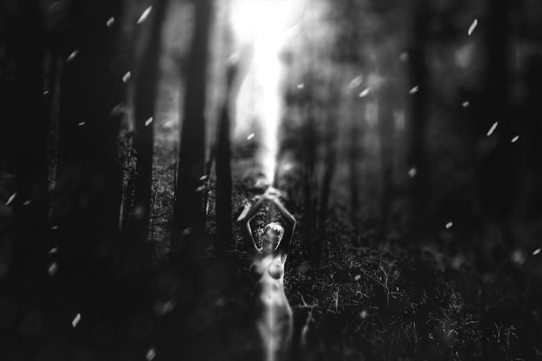 Born of Light Artistic Nude Photo by Photographer Marian Sztrecsko