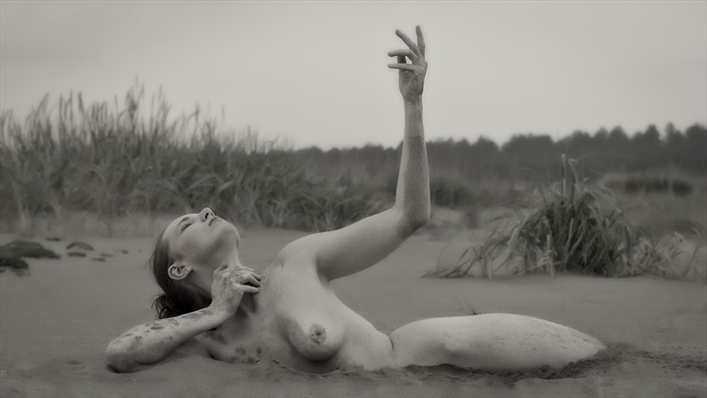 Born of the Sand Artistic Nude Photo by Photographer Rascallyfox