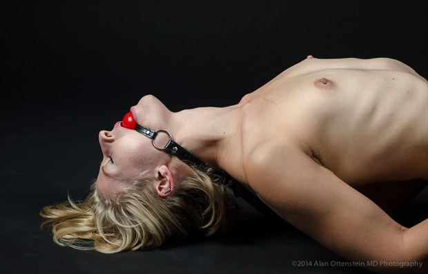 Bound and Ball Gagged Artistic Nude Photo by Photographer AOPhotography