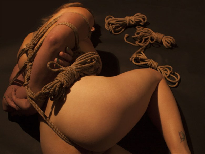 Bound and tied Erotic Photo by Artist LovelyDay