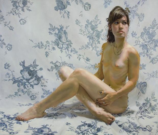Bourgeon De Rose Artistic Nude Artwork by Artist Main Loop