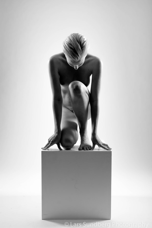 Box Artistic Nude Photo by Model Jasmine Sundstr%C3%B6m