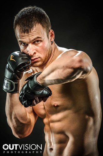 Boxer Studio Lighting Photo by Photographer OutVision