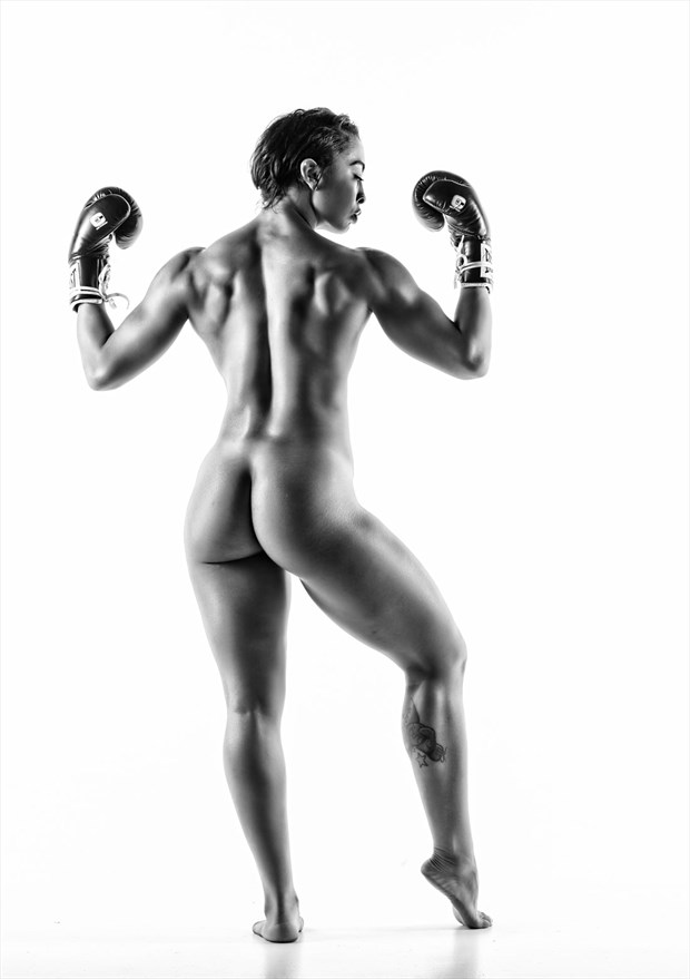 Boxing Gloves Artistic Nude Photo by Photographer Dream Digital Photog