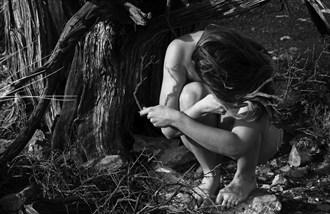 Branching  Artistic Nude Photo by Model Stilt