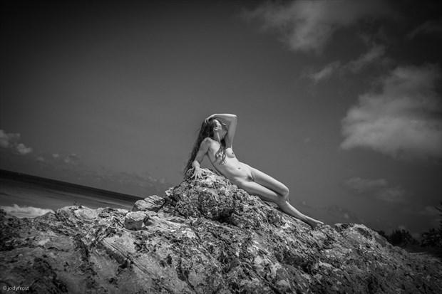 Brandi on the Rock Artistic Nude Photo by Photographer jody frost
