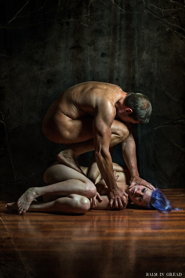 Break Me Down Artistic Nude Photo by Model Amanda Morales