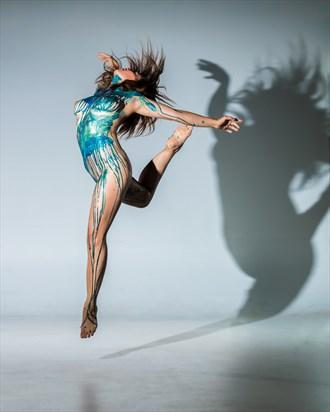 Breaking Free Artistic Nude Photo by Model Charlotte Dell'Acqua