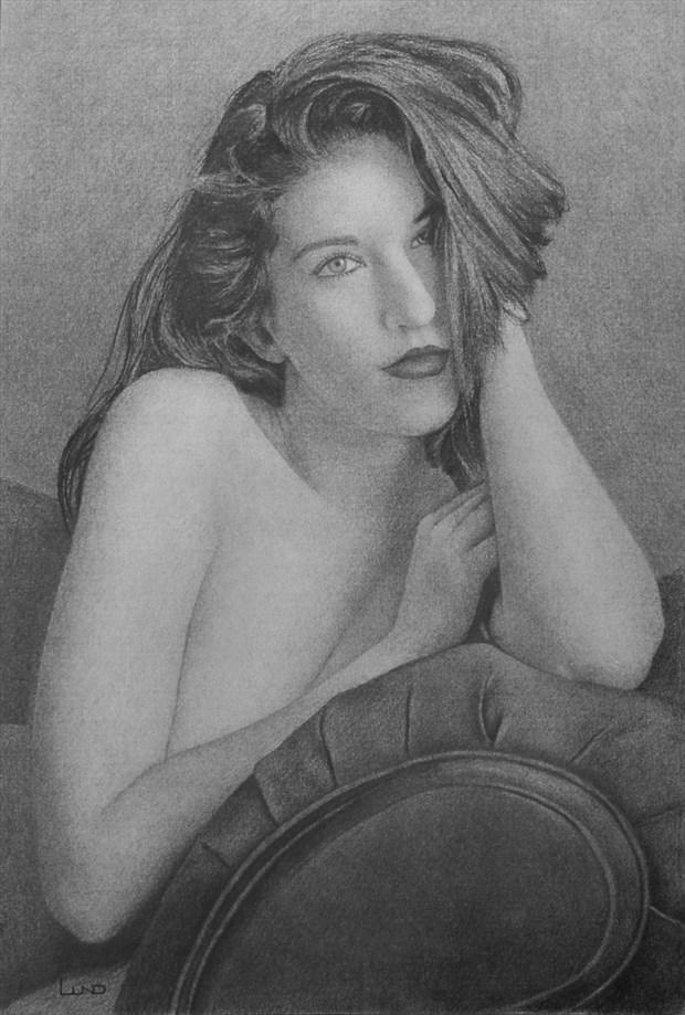 Breanna Marie Glamour Artwork by Artist Legends by Lund