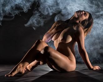 Breathe Artistic Nude Photo by Model Charlotte Dell'Acqua