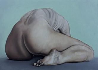 Brianna No.1  Artistic Nude Artwork by Artist Chuck Miller