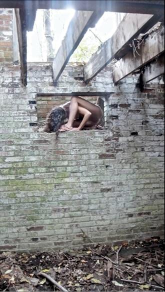 Brick Artistic Nude Photo by Photographer Jeff Levine