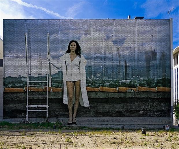 Brick by Brick Surreal Artwork by Model Ree Ja