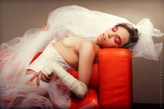 Bride Artistic Nude Photo by Photographer Michele Fatarella