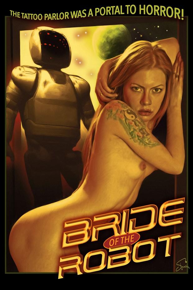 Bride Of the Robot Cosplay Artwork by Artist Van Evan Fuller