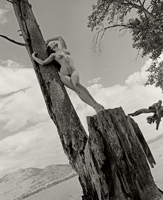 Britannia Artistic Nude Artwork by Photographer Christopher Ryan