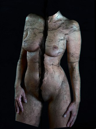 Broken Body Abstract Artwork by Artist Robert Barker