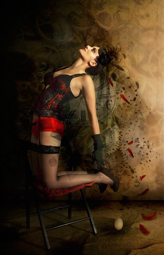 Broken Wings Lingerie Artwork by Photographer StasaS