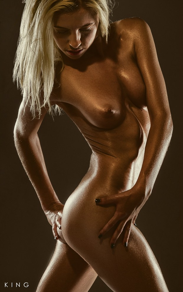 Bronzed Artistic Nude Photo by Photographer Terry King