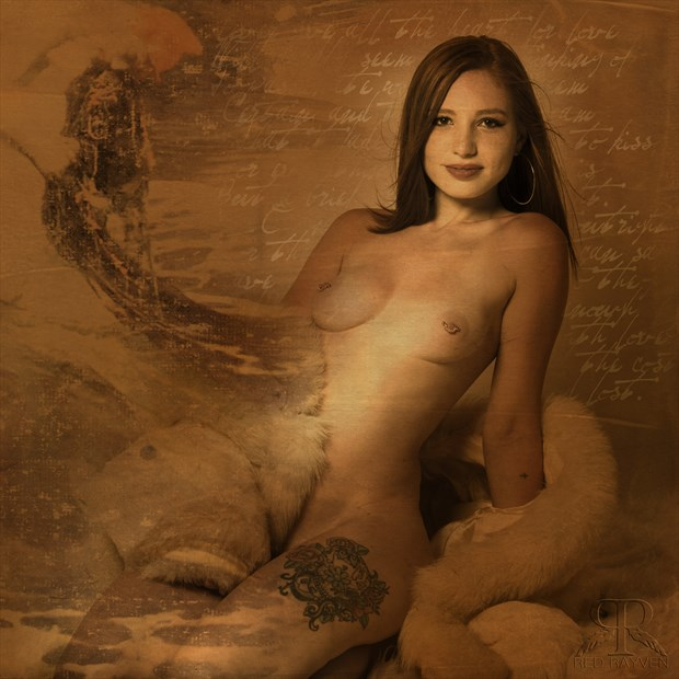 Brooke Artistic Nude Artwork by Photographer Red Rayven