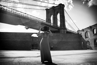 Brooklyn bridge Fashion Photo by Photographer