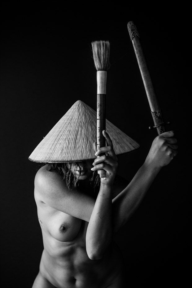 Brush Artistic Nude Photo by Photographer MadiouART