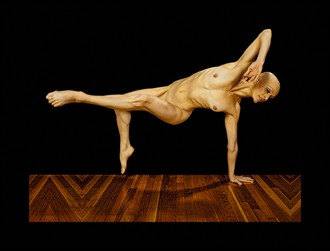 Buffeted By The Air Of Chance Artistic Nude Photo by Model Laura Dasi