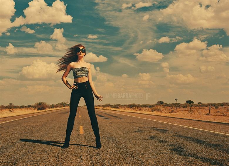Bug Surreal Photo by Model Shaun Tia
