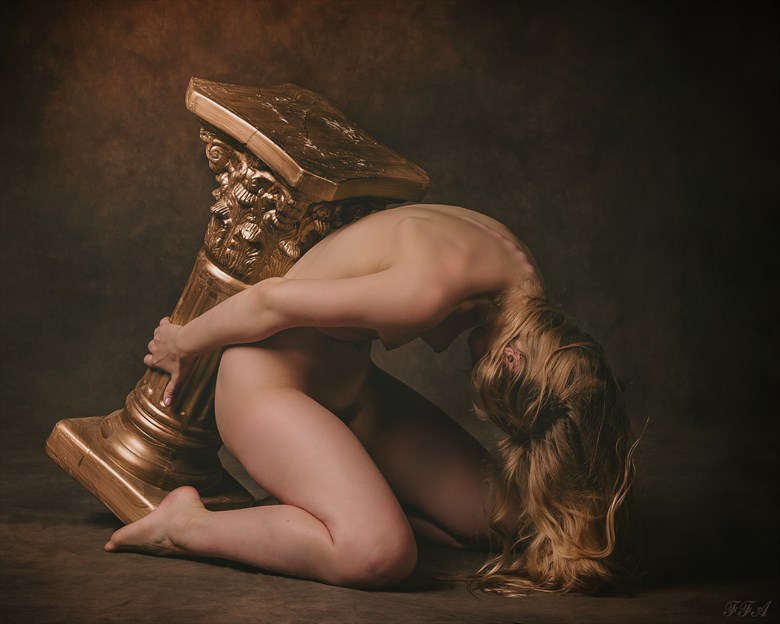 Burden Artistic Nude Photo by Photographer Fischer Fine Art