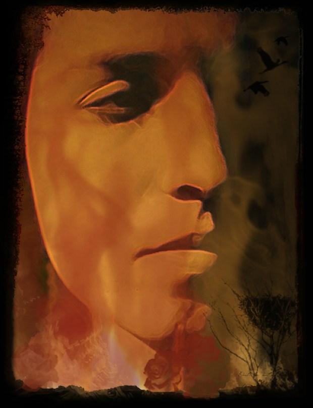 Burn Abstract Artwork by Artist 3ddream