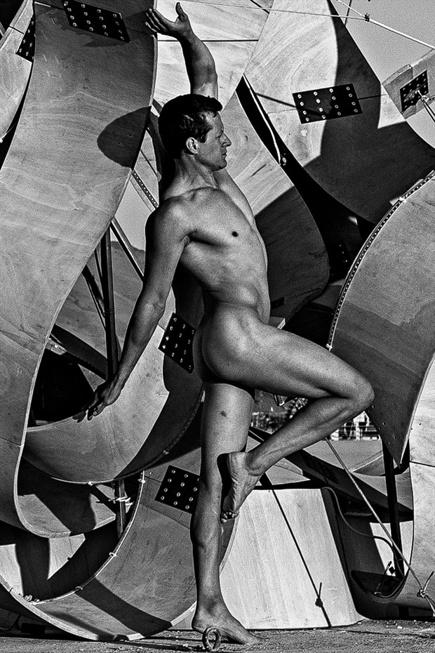Burning Man 2018 Artistic Nude Photo by Model Shawn (Alfie)